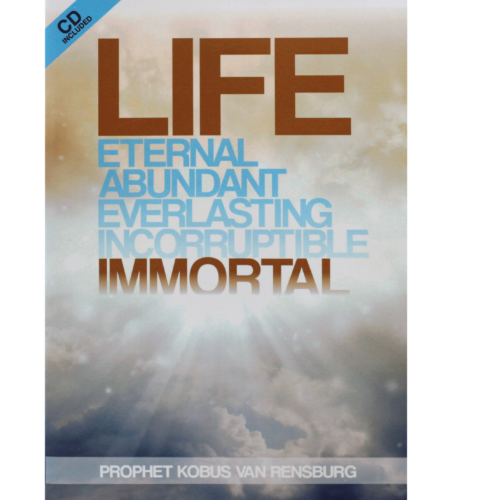 Prophet Kobus Senior's Book – Life