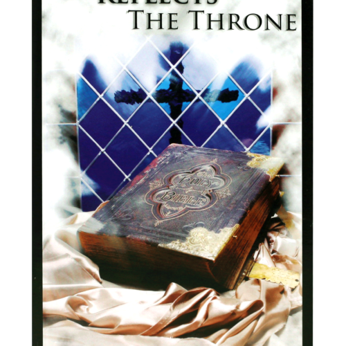 Prophet Kobus Senior's Book The cross reflect the Throne