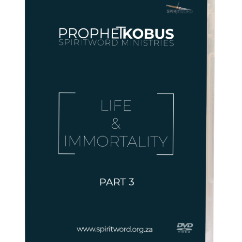 Immortality Part 3 – DVD Series
